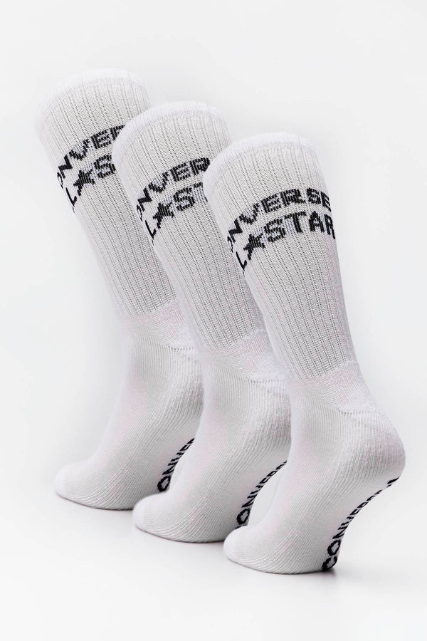 #00150  Converse Socken SOCKS MEN 3-PACK 3010 WHITE