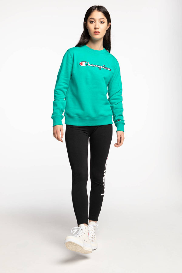 #00030  Champion Bluse Crewneck Sweatshirt 113190-BS118 MINT