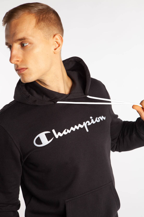 #00004  Champion Bluse HOODED SWEATSHIRT KK001 BLACK