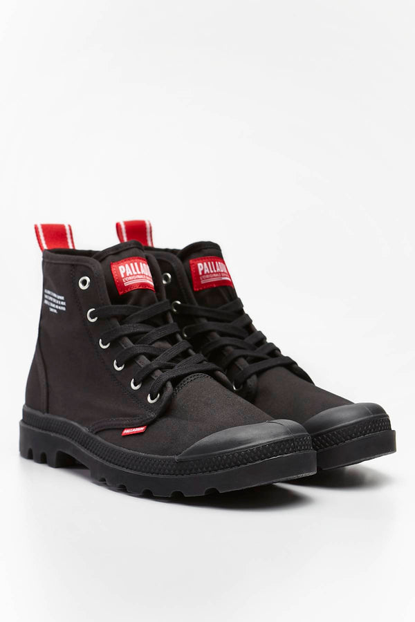 #00003  Palladium High-Top Schuhe PAMPA HI DARE 008 BLACK
