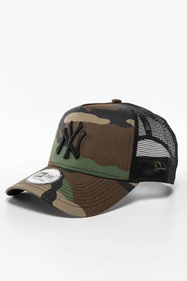 #00004  New Era Mütze CLEAN TRUCKER NY YANKEES 473 MORO
