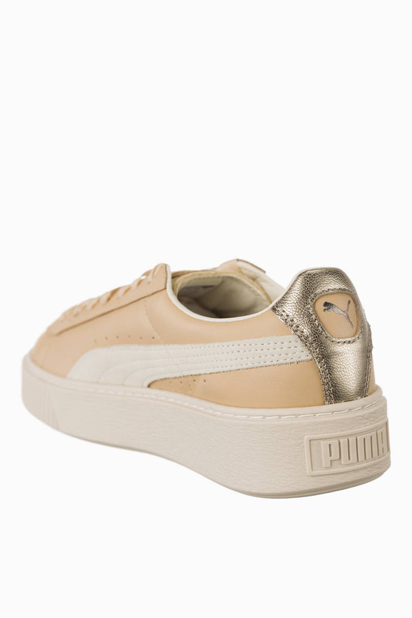 #00014  Puma Sneakers Basket Platform Up Wn s Natural Vachetta 01