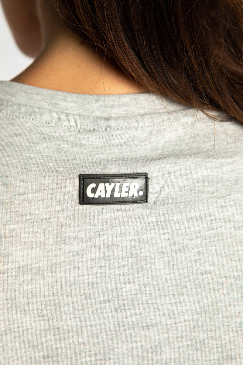 #00002  Cayler & Sons T-Shirt NORTHERN LINES TEE 01981 LIGHT HEATHER GREY/MC