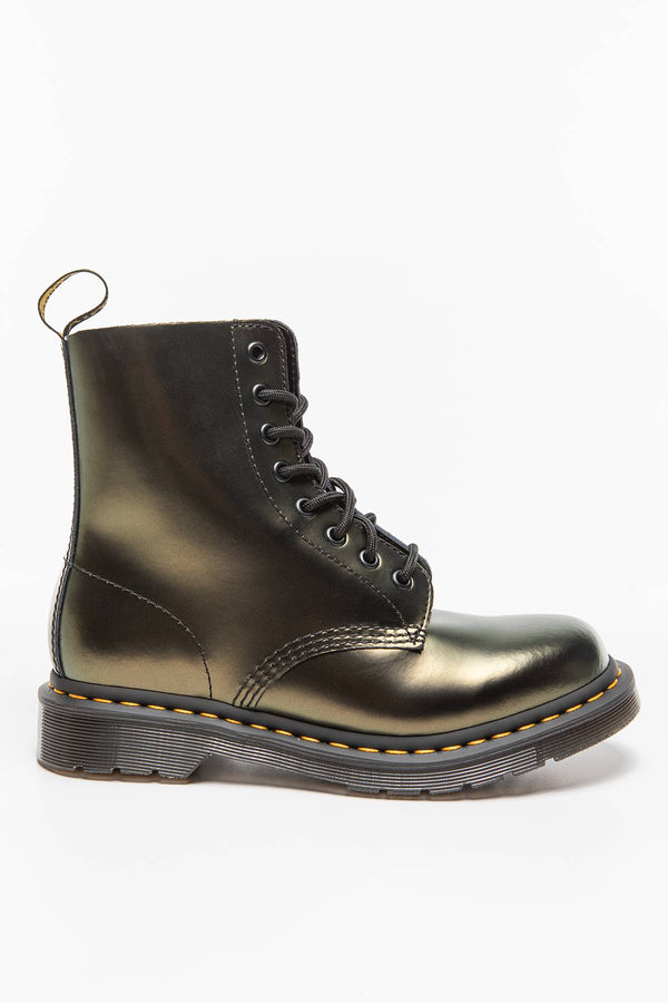 #00011  Dr.Martens High-Top Schuhe 1460 PASCAL CHROMA GOLD