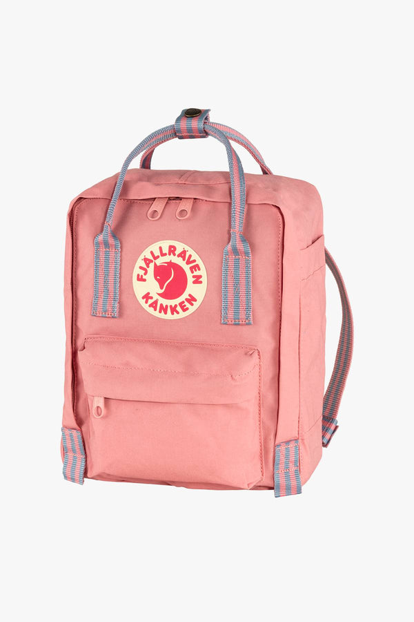 #00067  Fjallraven Rücksack PLECAK Kanken Mini F23561-312-909 PINK-LONG STRIPES