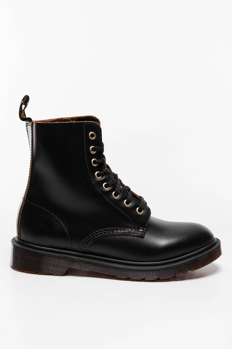 #00022  Dr.Martens High-Top Schuhe Buty za kostkę 1460 Black Pascal Vintage Smooth BLACK