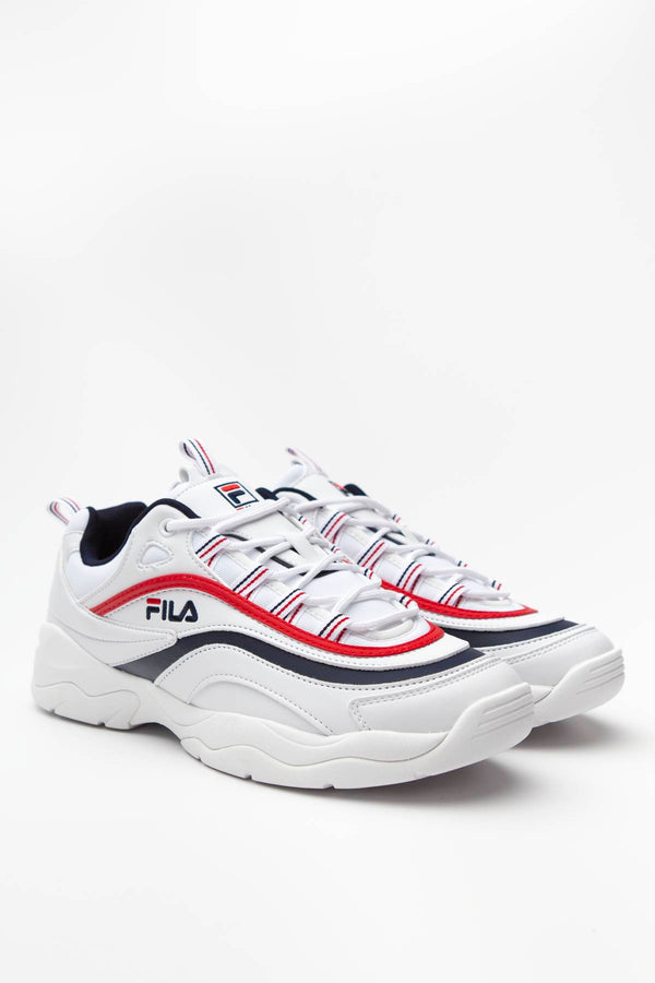 #00003  Fila Sneakers RAY LOW 150 WHITE/FILA NAVY/FILA RED
