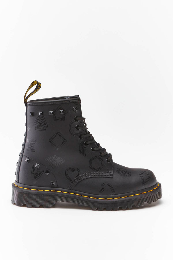 #00044  Dr.Martens High-Top Schuhe 1460 BEN BLACK WEIDLER
