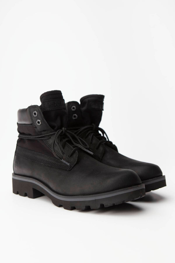 #00012  Timberland High-Top Schuhe RAW TRIBE 6-INCH BOOTS BLACK FULL-GRAIN