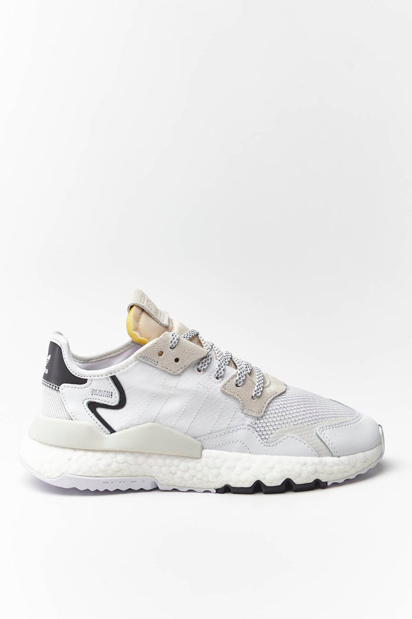 #00032  adidas Sneakers NITE JOGGER J 482 CLOUD WHITE/CLOUD WHITE/CRYSTAL WHITE