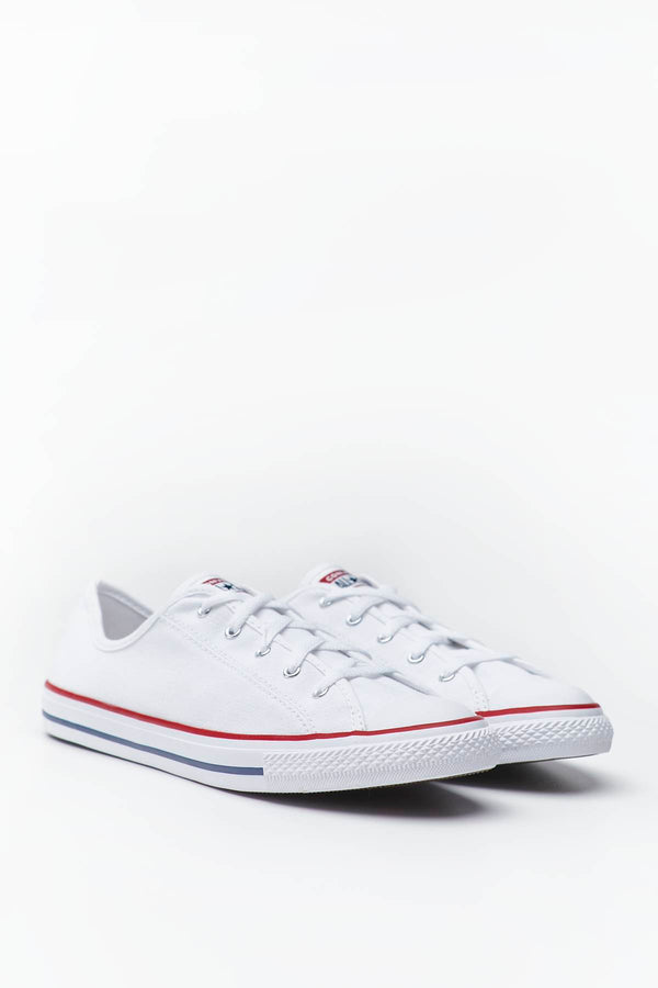 #00075  Converse Turnschuhe CHUCK TAYLOR ALL STAR DAINTY NEW COMFORT 981 WHITE/RED/BLUE