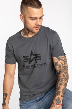 #00100  Alpha Industries T-Shirt Basic T-Shirt 03 412