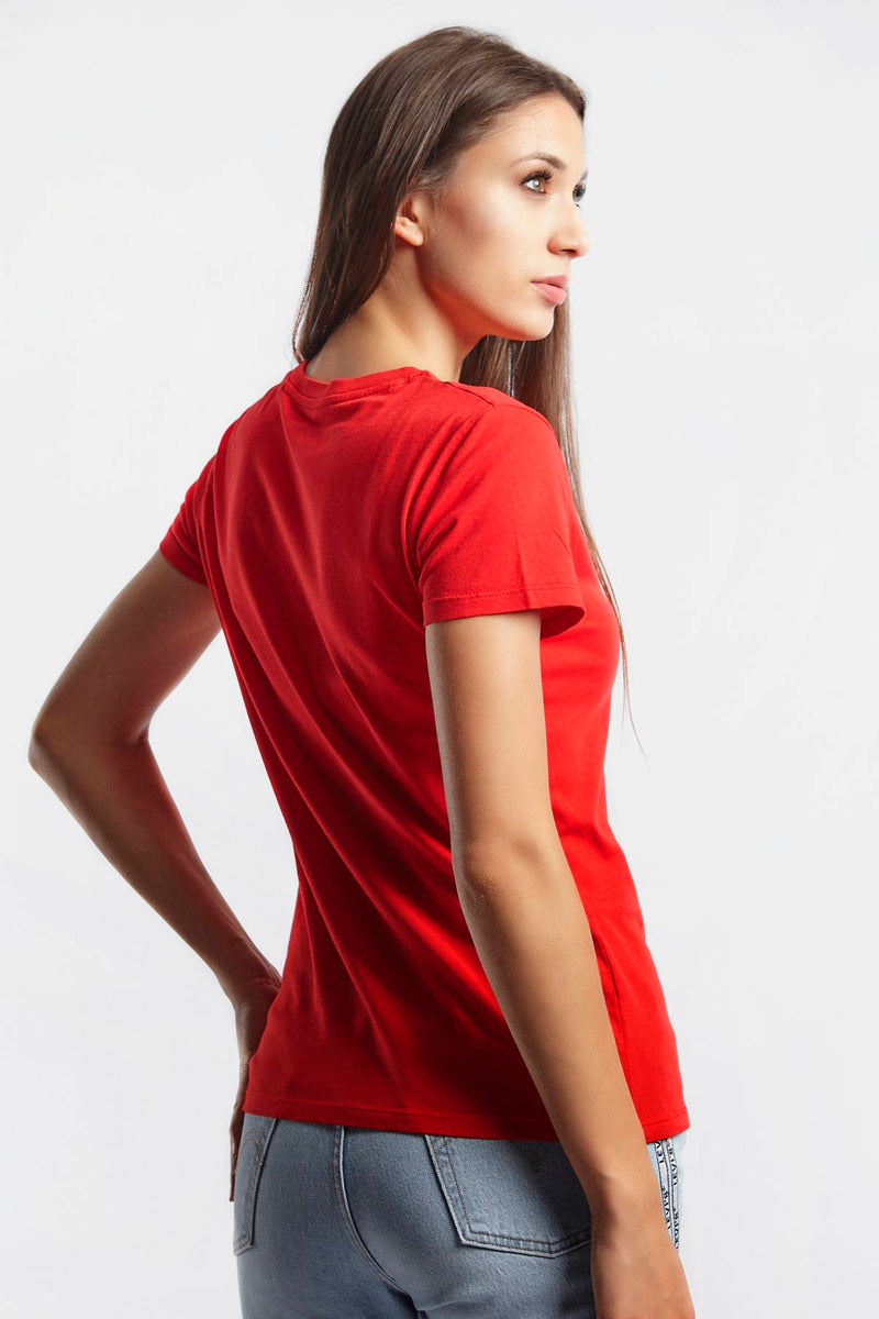 #00067  Levi's T-Shirt THE PERFECT TEE 0635 RED