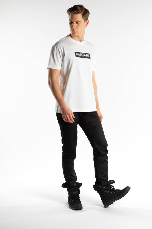 #00004  Napapijri T-Shirt SOX SS1 021 BRIGHT WHITE