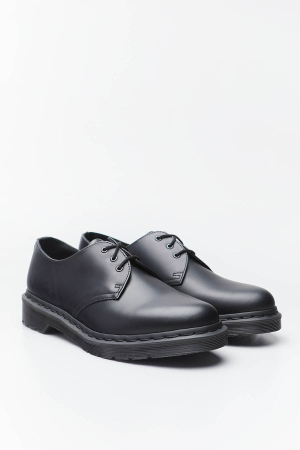 #00022  Dr.Martens Halbschuhe 1461 MONO SMOOTH LEATHER OXFORD BLACK