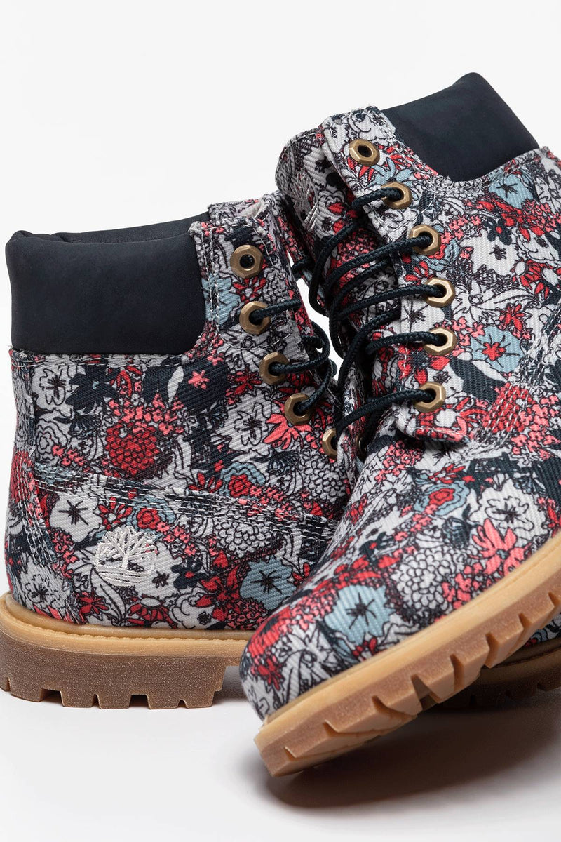 #00039  Timberland High-Top Schuhe 6IN PREMIUM FABRIC BIB