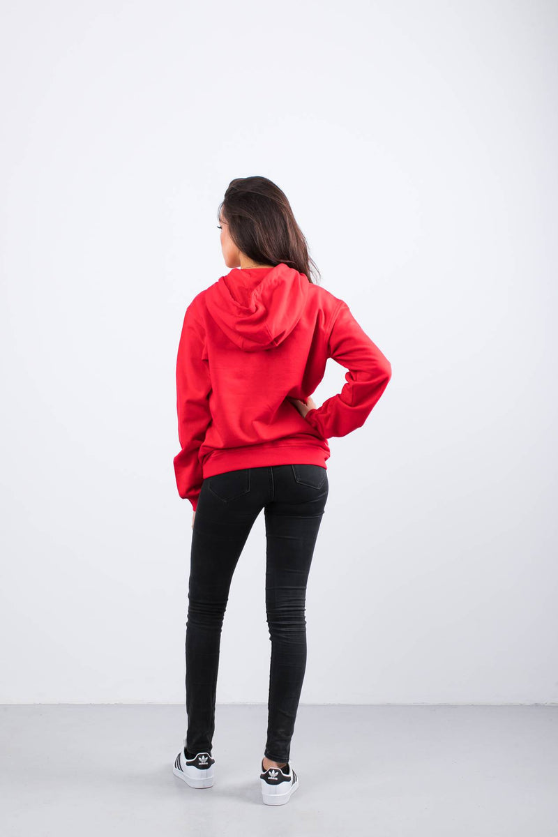 #00047  Fila Bluse PURE HOODY 006 TRUE RED