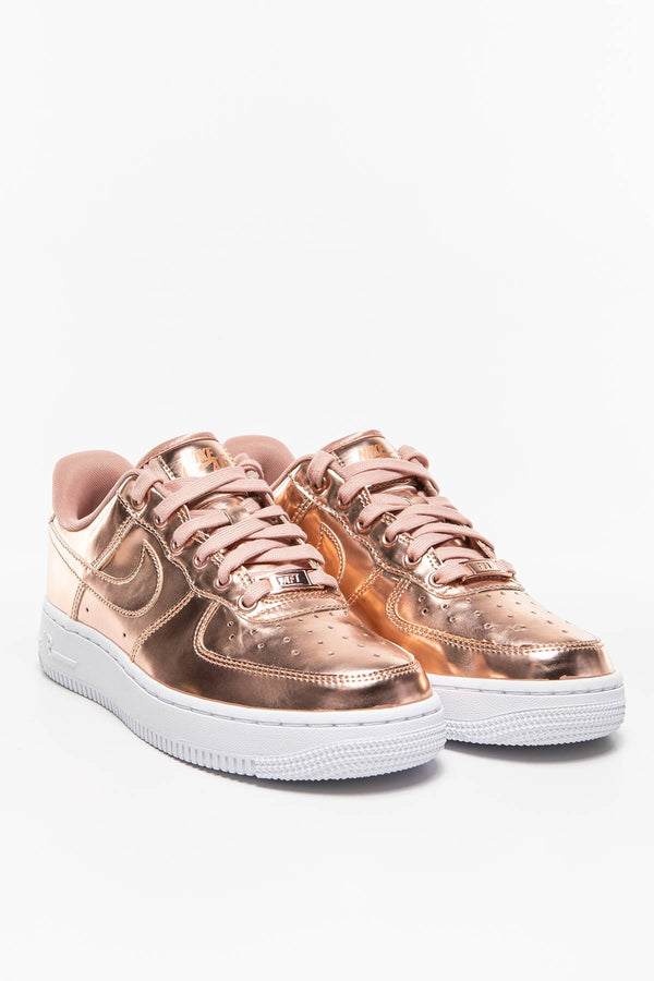#00006  Nike Sneakers W AIR FORCE 1 SP CQ6566-900 PINK GOLD/WHITE