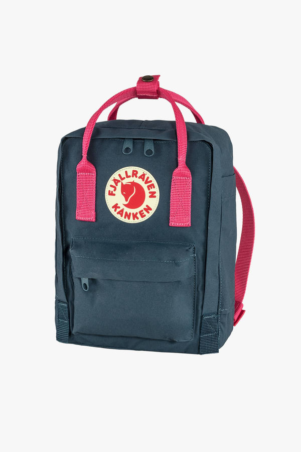 #00034  Fjallraven Rücksack PLECAK Kanken Mini F23561-540-450 ROYAL BLUE/PINK FLAMINGO