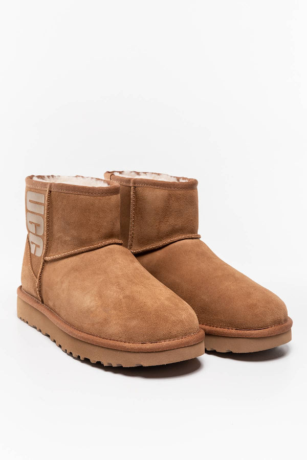 #00002  UGG Winterschuhe CLAS.MINI RUBBER LOGO CHEST.W 1108231/CHE CHESTNUT