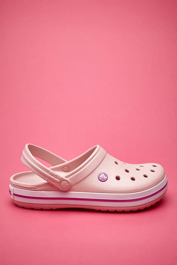 #00004  Crocs Pantoffeln Crocband Pearl Pink Wild Orhid 11016-6MB