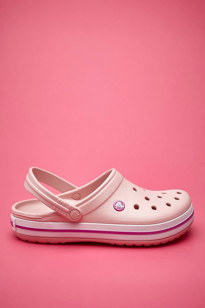 #00032  Crocs Pantoffeln Crocband Pearl Pink Wild Orhid 11016-6MB