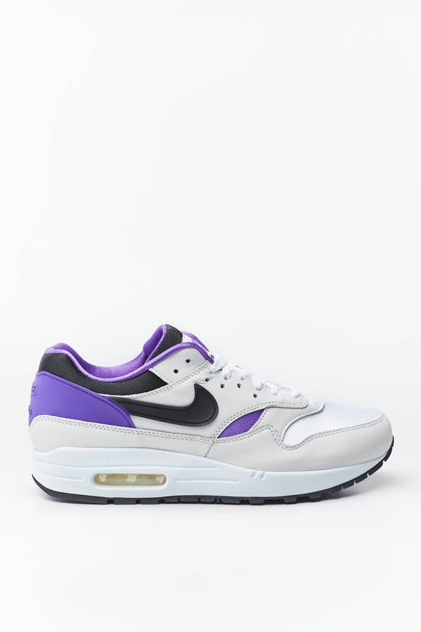 #00049  Nike Sneakers AIR MAX 1 DNA CH.1 101 WHITE/BLACK/PURPLE PUNCH