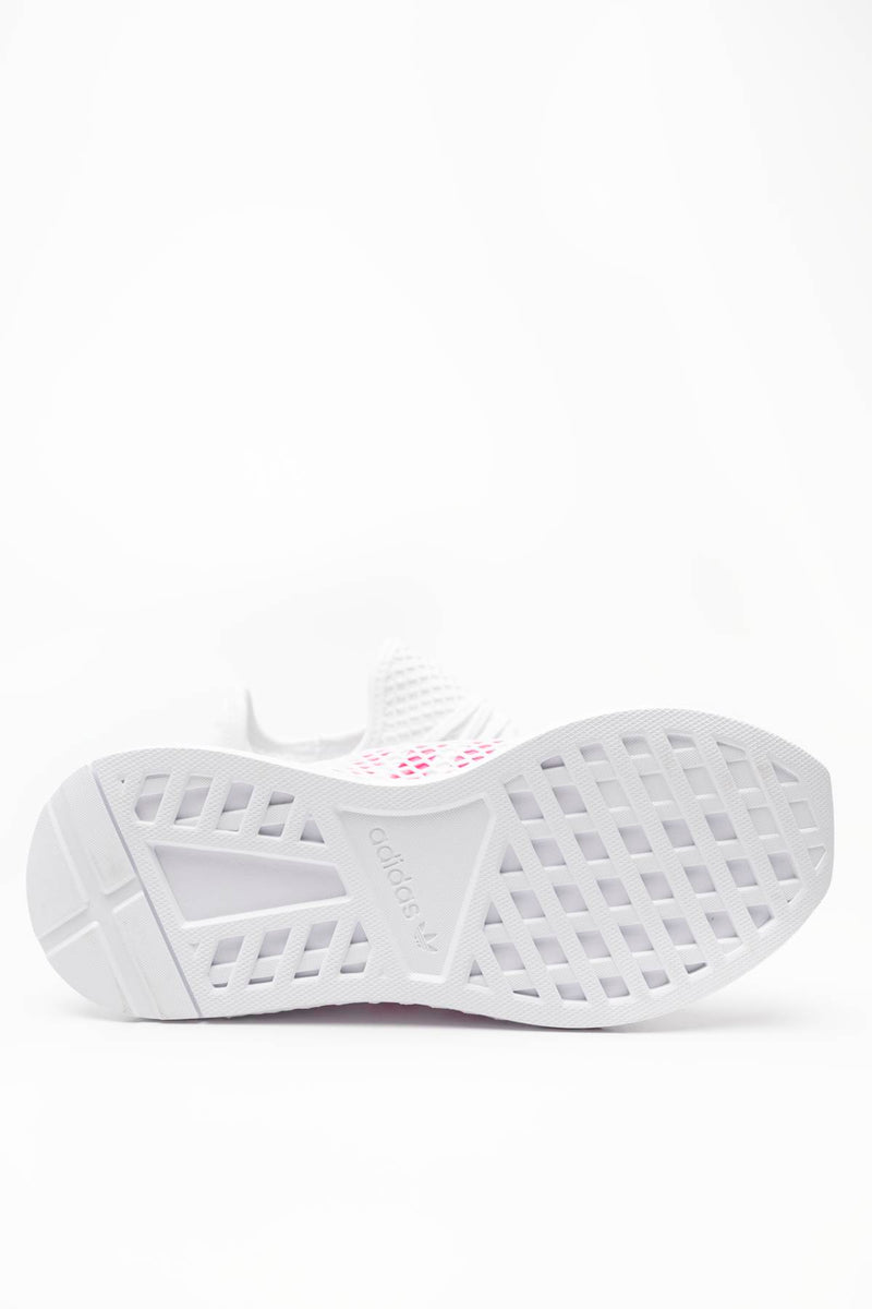 00078 adidas Sneakers DEERUPT RUNNER J 608 FOOTWEAR WHITE