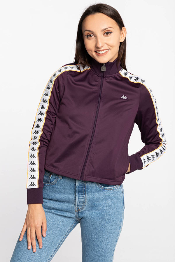 #00051  Kappa Bluse HASINA Women Training Jacket 308008-19-2009 VIOLET
