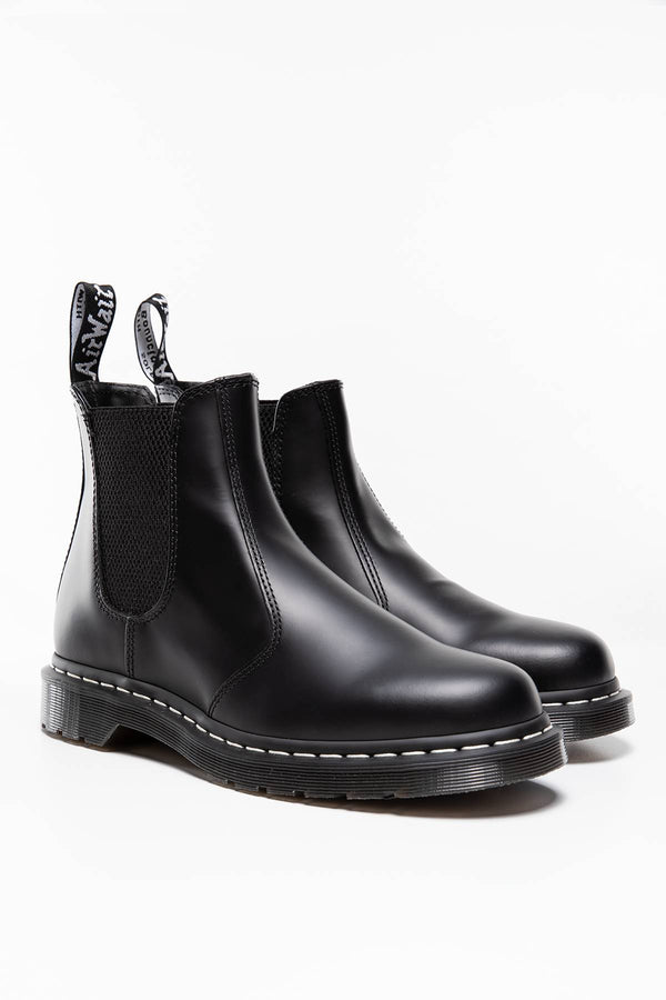 #00110  Dr.Martens High-Top Schuhe 2976 WS Chelsea Boot Black BLACK