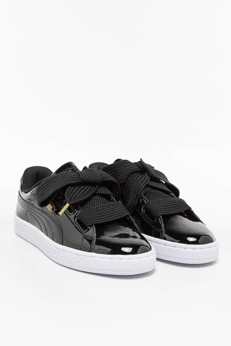 #00037  Puma Sneakers Basket Heart Patent Wns 01