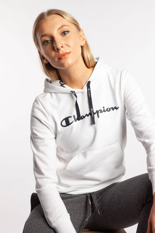 #00002  Champion Bluse HOODED SWEATSHIRT WW001 WHITE