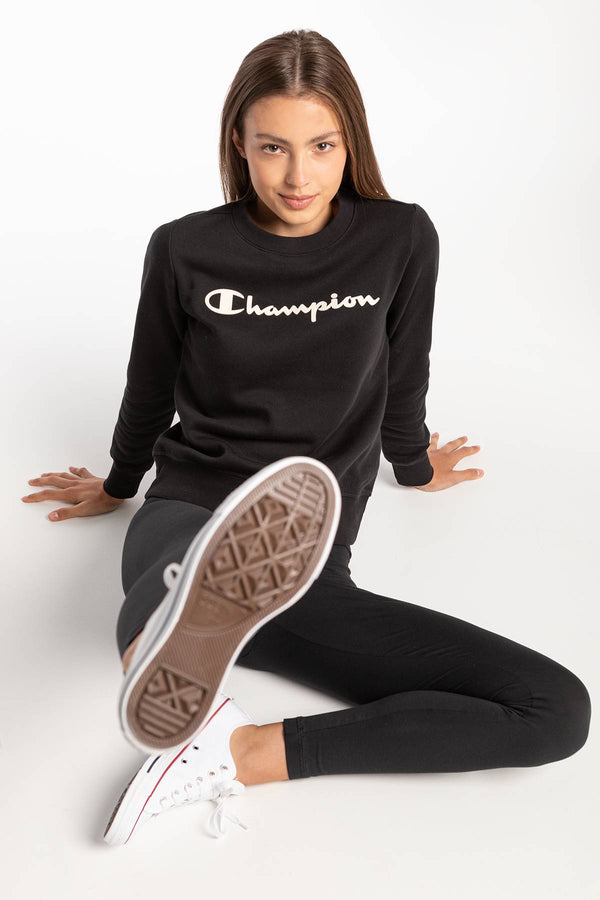 #00069  Champion Bluse Crewneck Sweats 210 BLACK