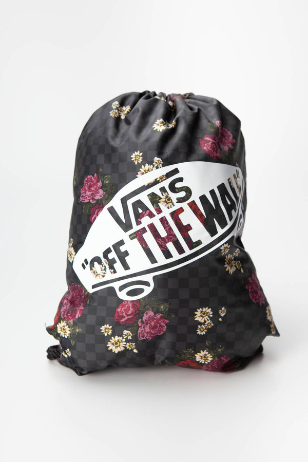 #00214  Vans BENCHED BAG UWX BOTANICAL CHECK