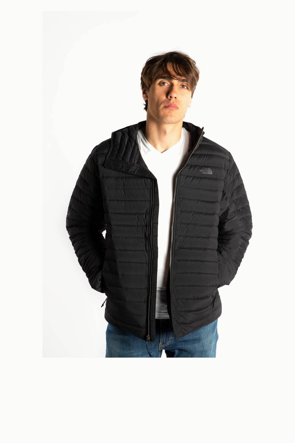 #00019  The North Face Jacke STRETCH DOWN HOODIE JK3 TNF BLACK