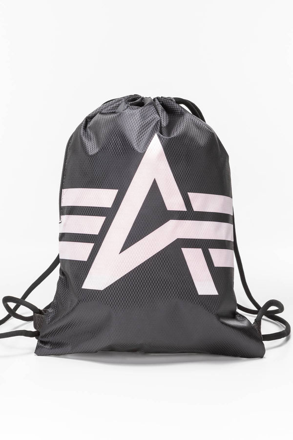 #00194  Alpha Industries Basic Gym Bag 198903-03 BLACK/PINK