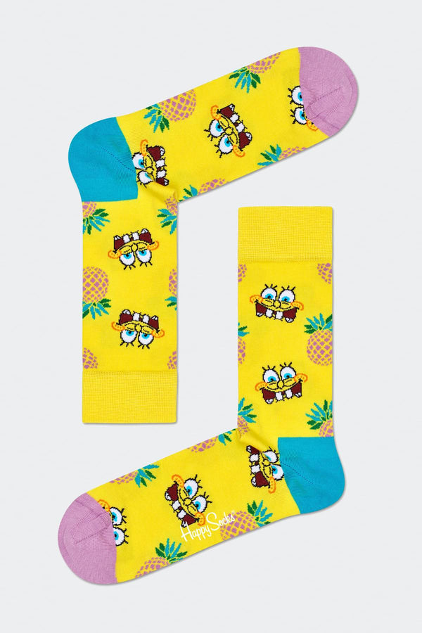 #00001  Happy Socks Socken SPONGE BOB FINEAPPLE SURPRISE 2300