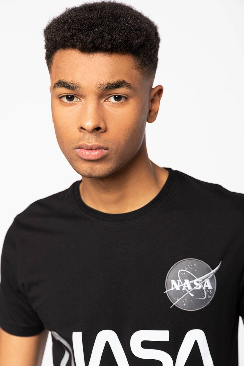 #00102  Alpha Industries T-Shirt NASA Reflective T 178501-03