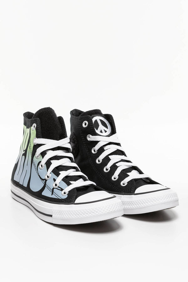#00061  Converse Turnschuhe CHUCK TAYLOR PEACE 891 BLACK/LEMONGRASS/WHITE