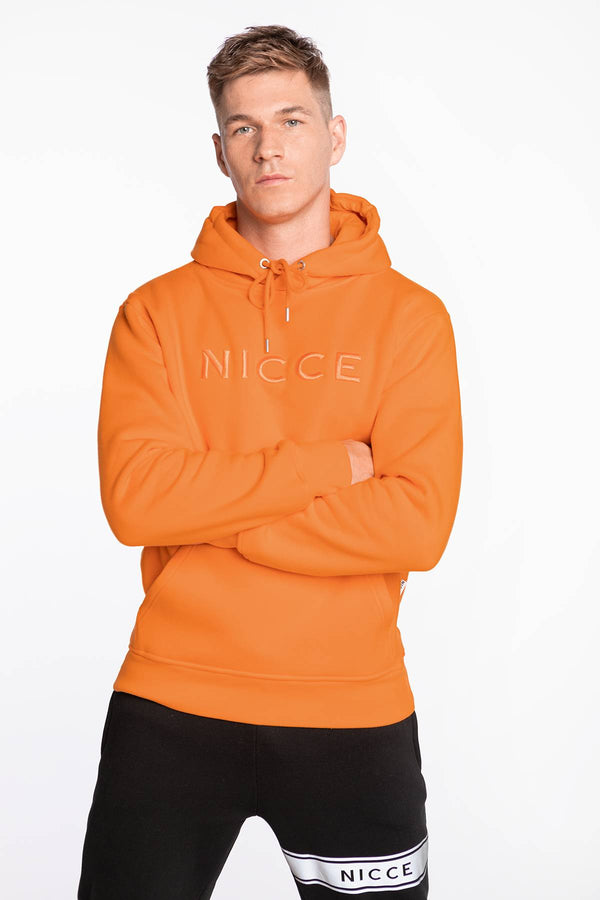 #00001  Nicce Bluse MERCURY HOOD 001-3-02-08-0251 FLAME ORANGE