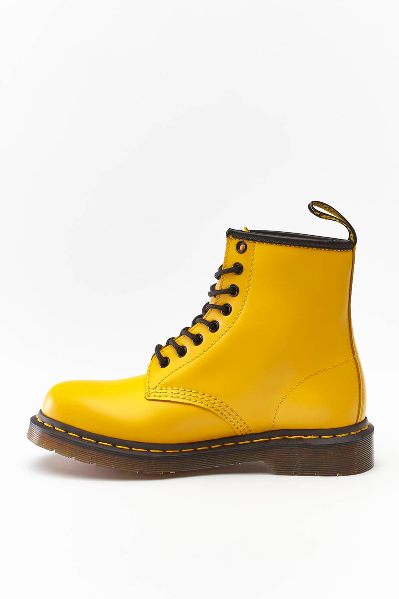 #00044  Dr.Martens High-Top Schuhe 1460 SMOOTH SUMMER ICONS YELLOW YELLOW