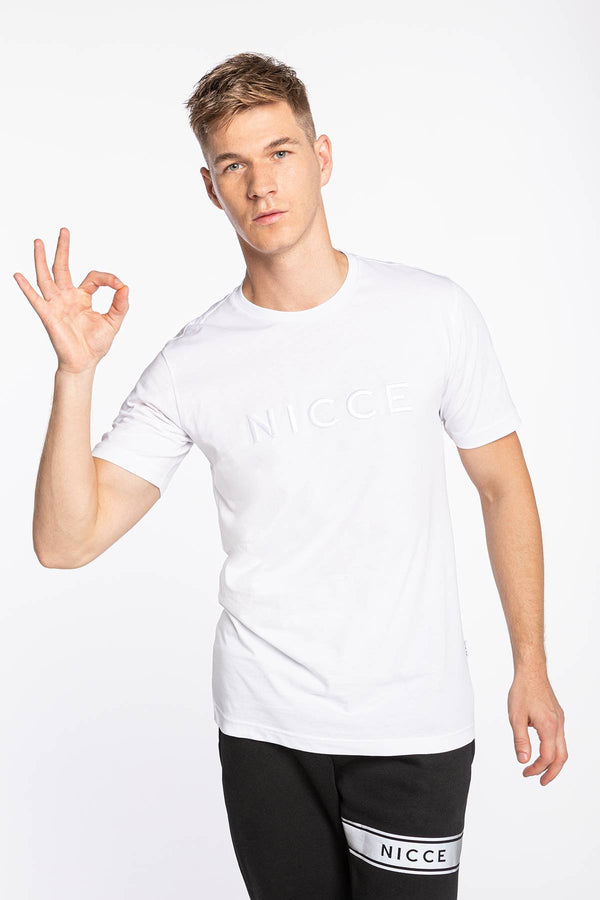 #00003  Nicce T-Shirt MERCURY T-SHIRT 001-3-09-03-0002 WHITE