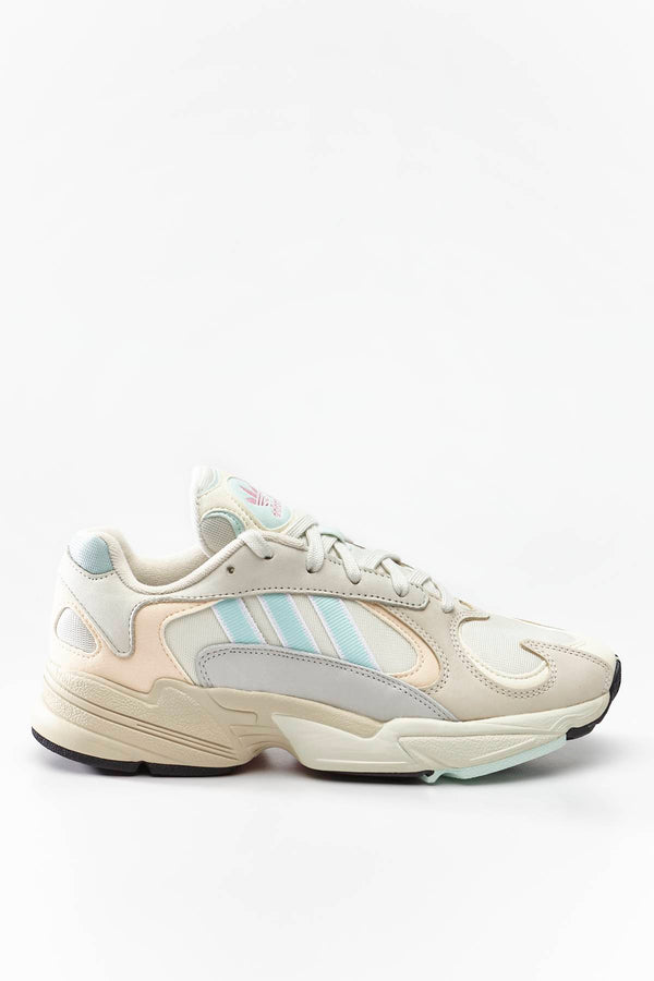 #00206  adidas Sneakers YUNG-1 118 OFF WHITE/ICE MINT/ECRU TINT