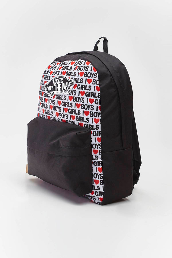 #00059  Vans Rücksack REALM BACKPACK VDA HEART