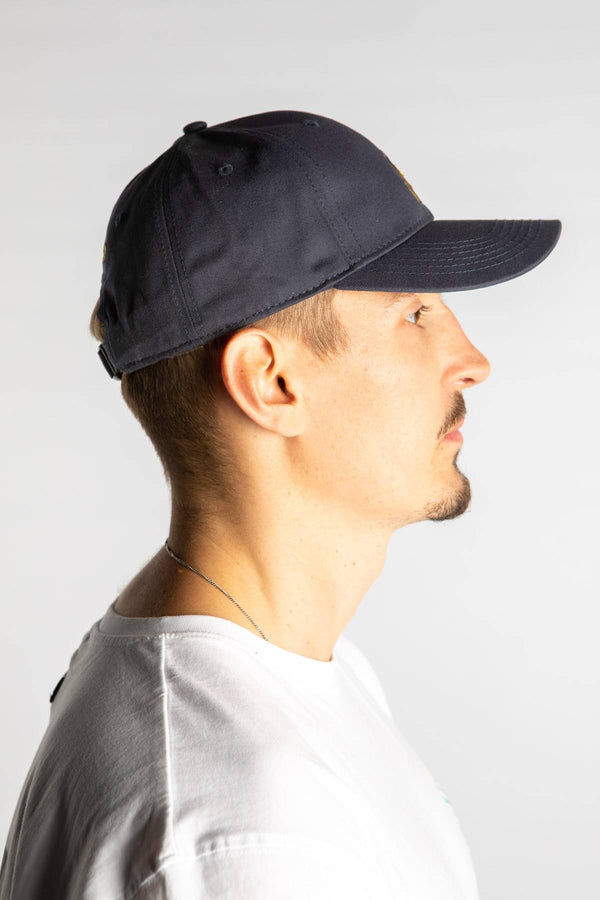 #00019  Cayler & Sons Mütze BIG LINES CURVED CAP 01194 NAVY/MC