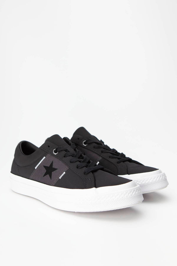 #00085  Converse Turnschuhe ONE STAR 059 BLACK/ALMOST BLACK/WHITE