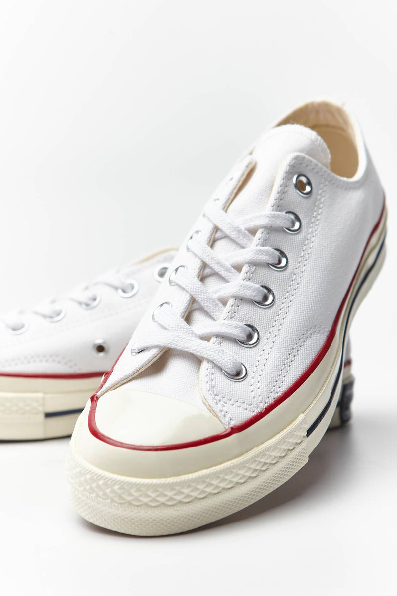 #00066  Converse Turnschuhe CHUCK TAYLOR ALL STAR 70 C162065 WHITE/RED/BLACK/WHITE