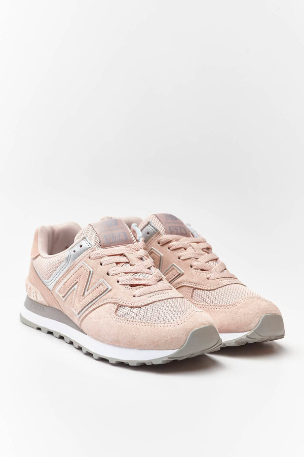 #00032  New Balance Sneakers WL574EQ SMOKED SALT WITH SILVER