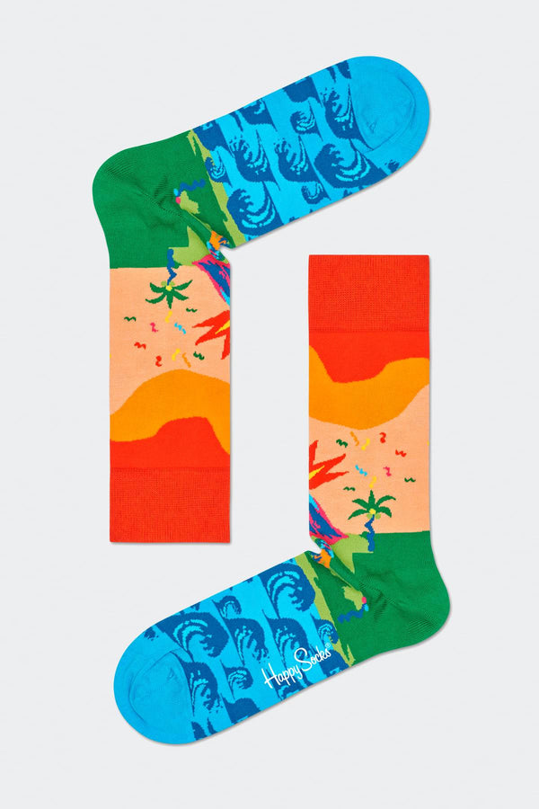 #00005  Happy Socks Socken TROPICAL ISLAND 3300