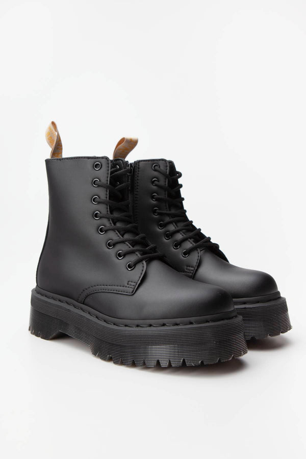 #00005  Dr.Martens High-Top Schuhe VEGAN JADON II MONO BLACK FELIX RUB OFF